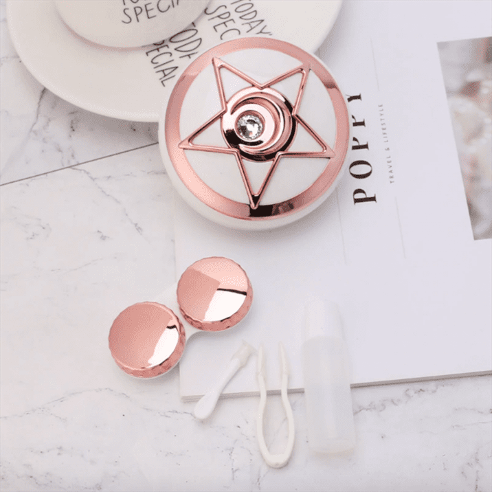 Five Star Mirror Case Rose Gold