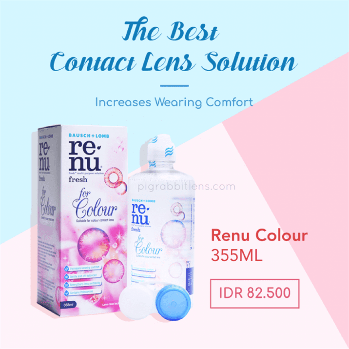 Cairan Softlens Colour Renu 355ml